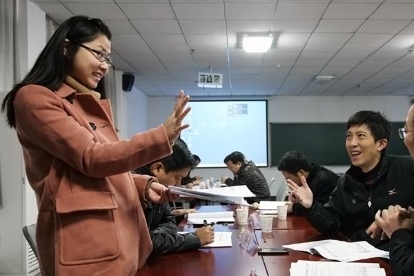 经济贸易学院 余清雏