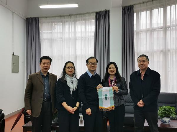 台灣大葉大學與我校開展合作交流與調研